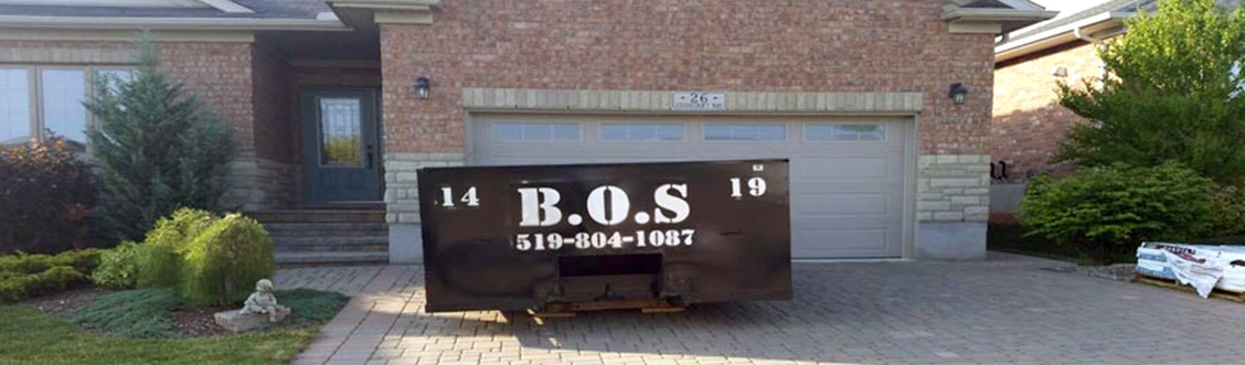 Residential Garbage Services by BOS Services Inc. - Bin Rental Services Tavistock