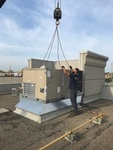 Chimneys on a Factory - Industrial HVAC Brampton by Thermokline Mechanical