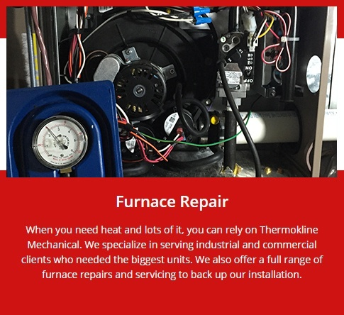 Furnace Repair Brampton by Thermokline Mechanical