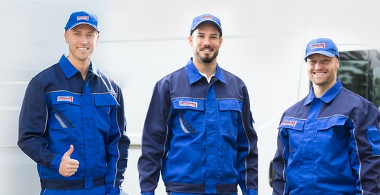 Crew Posing for a Picture - Commercial HVAC GTA by Thermokline Mechanical