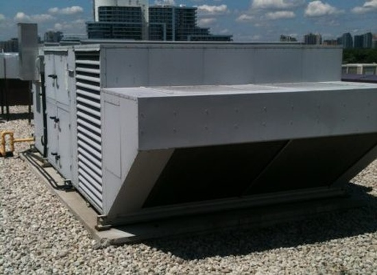 Terrace HVAC Unit - Commercial Air Conditioning Installation GTA by Thermokline Mechanical