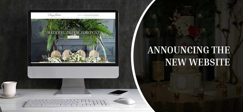 Announcing The New Website - Design Mantraa - Decor and Florals