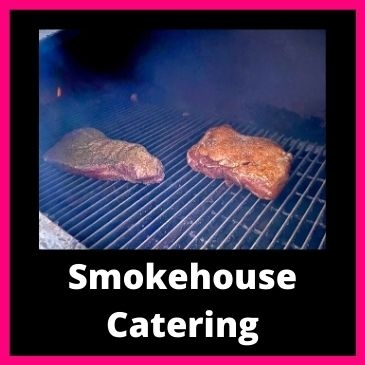 Smokehouse catering button