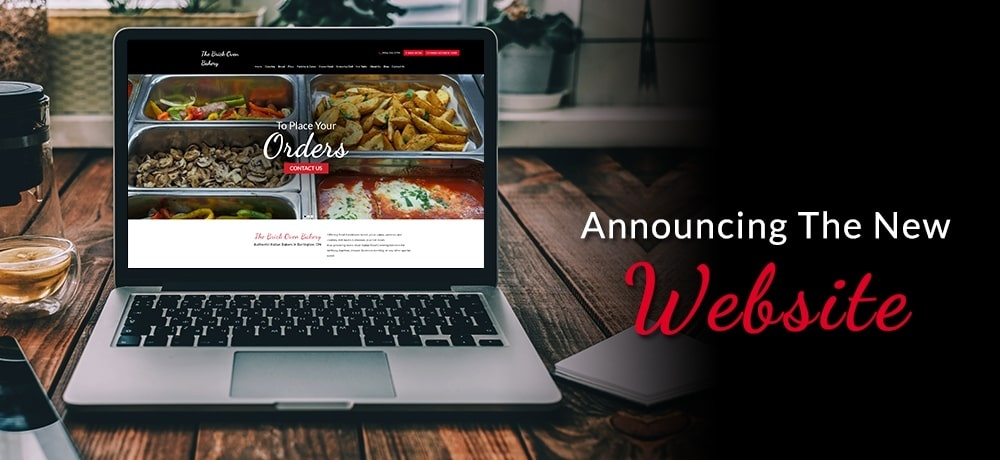 Announcing the New Website - The Brick Oven Bakery