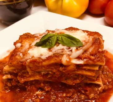 Meat Lasagna by The Brick Oven Bakery - Italian Food Catering Burlington