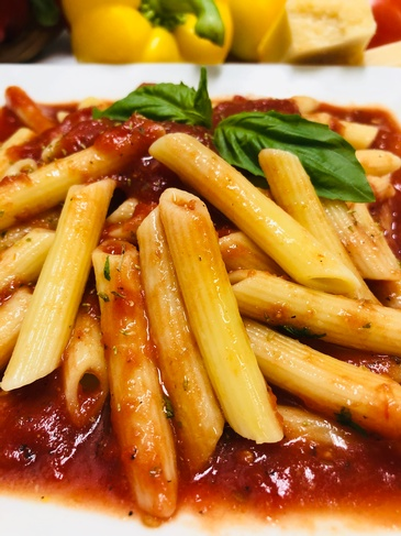 Penne Pasta with Tomato Sauce by The Brick Oven Bakery - Burlington Authentic Italian Food