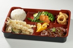 A Combo Meal with Veggies, Rice, Meat and Fruits - Traditional Japanese Food Vaughan by Taiga Japan House
