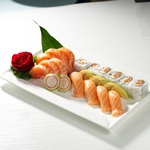 Yummy Sushi Combo well Presented in a Plate by Taiga Japan House - Japanese Traditional Food Vaughan