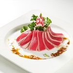 Sliced Meat with Mint Leaves Topping - Japanese Traditional Food Vaughan by Taiga Japan House