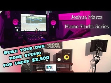 How to Build Your Own Home Studio For Under $2,500