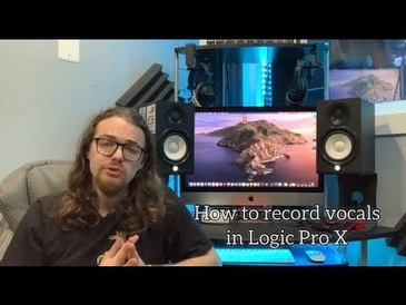 How to Record Vocals in Logic Pro X