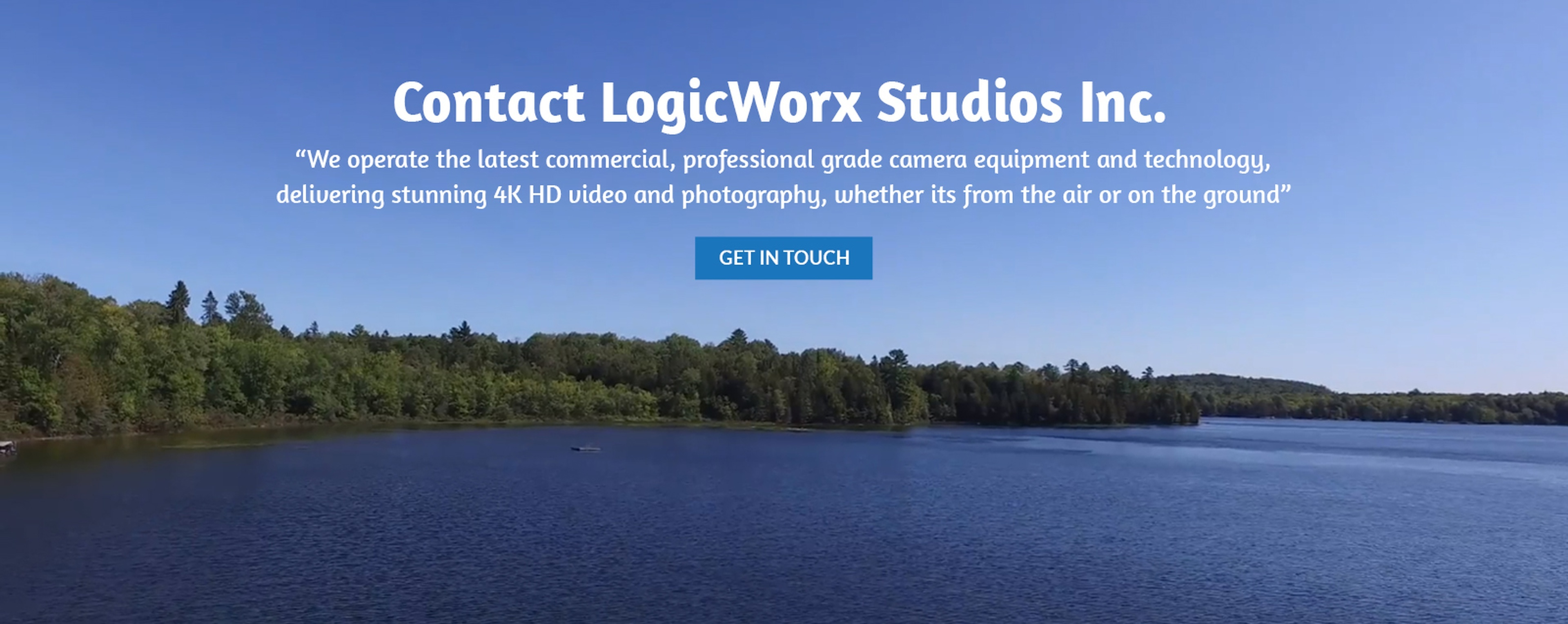 Contact LogicWorx Studios Inc. - Professional Drone Video Production Services Newmarket