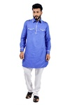 Blue  Pathani Suit  RK4139