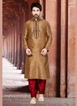 Eye Catching Brown Hue Kurta Payjama