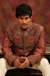 Rich Embroidery Work Maroon Sherwani BL2007