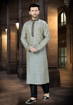 Light Grey Online Kurta Perfect For Festive