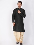 Online Rich Look Wedding Collection Black Kurta