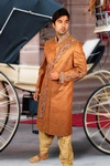 Ideal Designer Wedding Sherwani BL2044