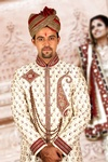 White Wedding Dhoti Sherwani BL2037