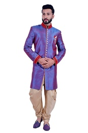 Blueberry  Indowestern Sherwani  RK1113