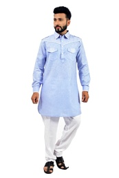 Skyblue  Pathani Suit  RK4140