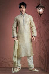 Beige Color Kurta Payjama