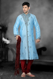 Sky Blue Color Kurta Payjama