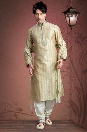 Gold Color Kurta Payjama