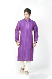 Green Color Ethnic Kurta Payjama