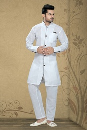 White Color Astounding Kurta Payjama