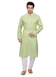 Charming Green Ethnic Kurta Payjama