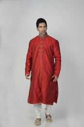 Red Color Stylish Kurta Payjama