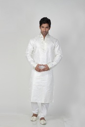 Grey Color Beautiful Kurta Payjama
