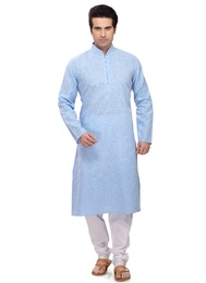 Blue Color Impressive Kurta Payjama