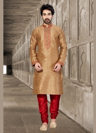 Brown Lavish Kurta Payjama