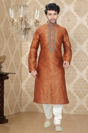 Orange Color Fantastic Kurta Payjama