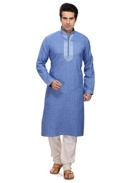 Dashing Blue Kurta Payjama