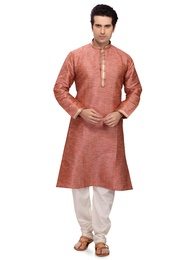 Orange Color Vogue Kurta Payjama