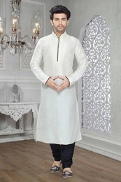 White Color Exclusive Collection Kurta Payjama