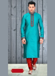 Glamourous Blue Color Kurta Payjama