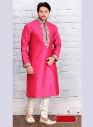 Beautiful Pink Kurta Payjama