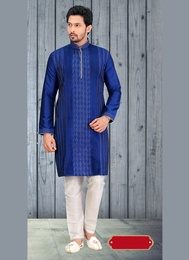 Blue Color Fashionable Kurta Payjama