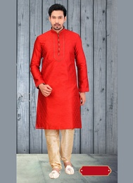 Impressive Red Color Kurta Payjama
