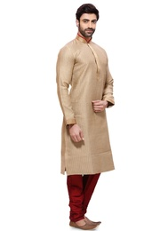 Rich Look Brown Color Kurta Payjama