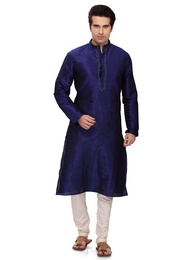 Blue Color Royal Kurta Payjama