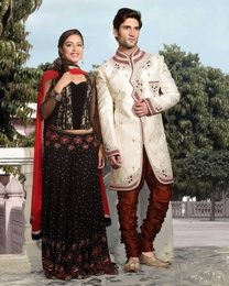 Soothing White Color Wedding And Festive Royal Sherwani For Men