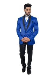Blue And Black Designer Collection Suit Online