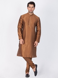 Online Cotton Brown Kurta Payjama