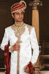 Ideal Wedding Dhoti Sherwani BL2027