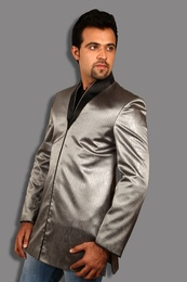 Exceptional Grey Blazer BL5040